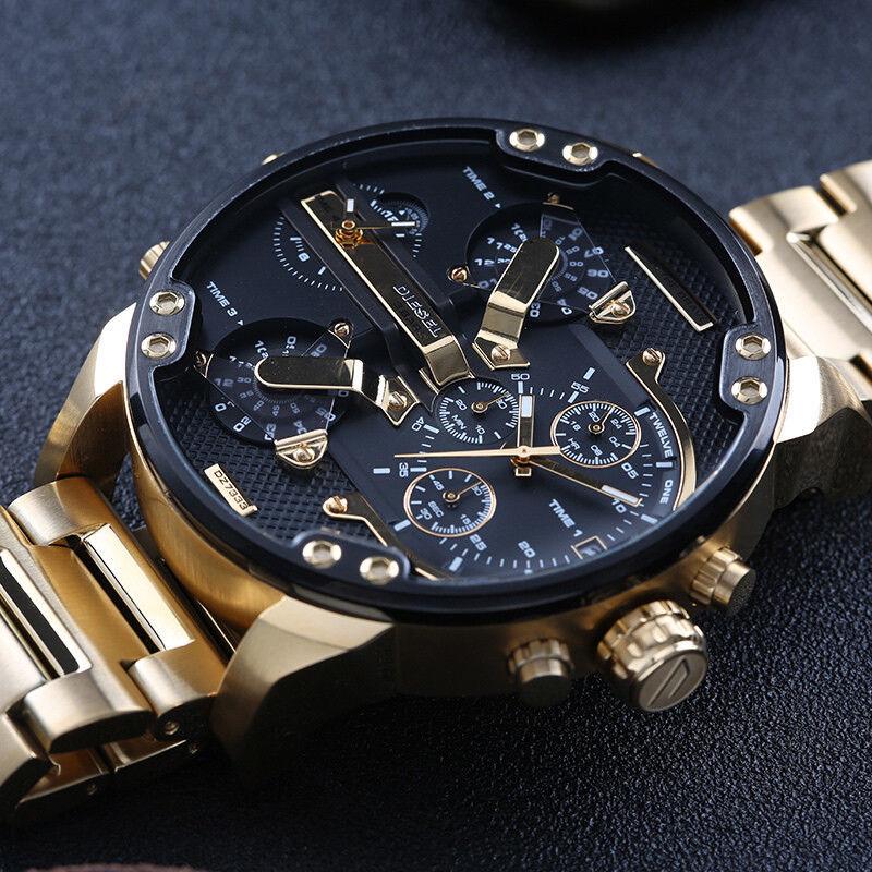 DIESEL 時計 腕時計 ディーゼル クロノグラフGMTメンズ DZ7333 Mr. Daddy 57mm 新品 未使用 保証つき_画像3