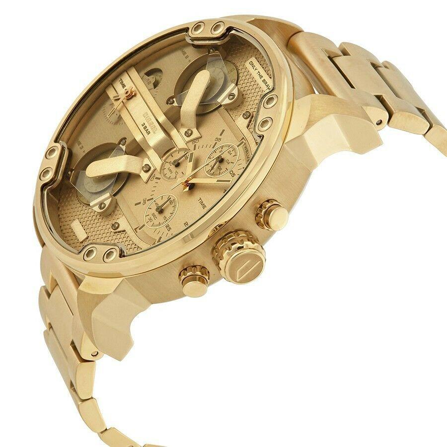 DIESEL 時計 腕時計 ディーゼル クロノグラフGMTメンズ DZ7399 Mr. Daddy 57mm 新品 未使用 保証つき_画像8