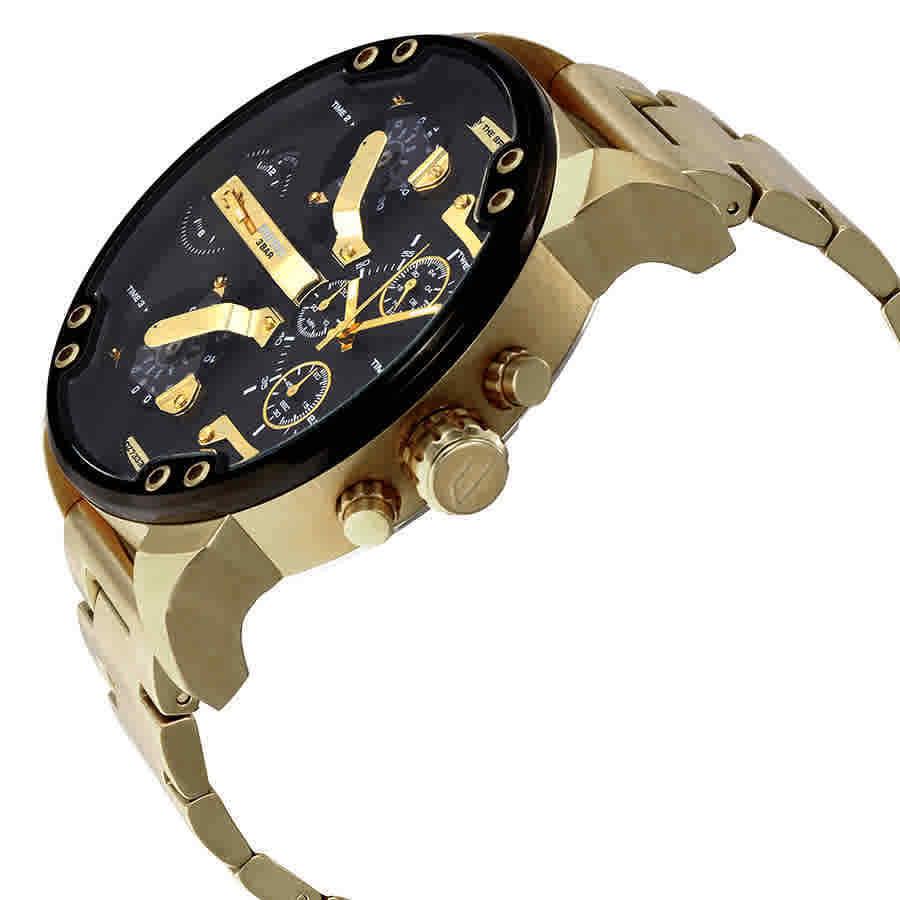 DIESEL 時計 腕時計 ディーゼル クロノグラフGMTメンズ DZ7333 Mr. Daddy 57mm 新品 未使用 保証つき_画像4