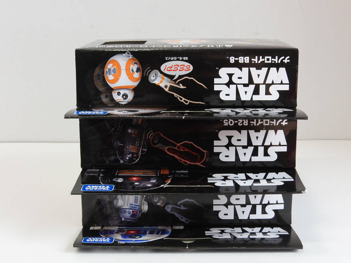 STAR WARS nano Droid [ all 3 kind ]R2-D2/BB-8/R2-Q5 radio-controller light control system saver type controller Star * War z