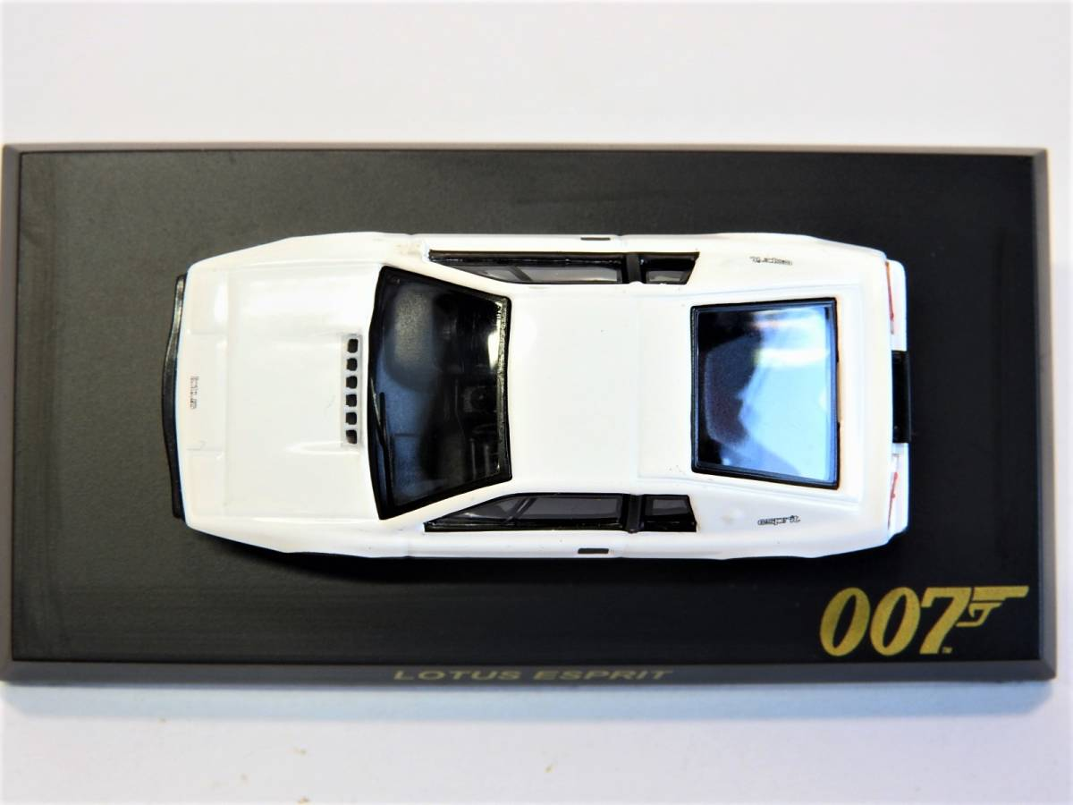 Kyosho 007 1/72 bond car Lotus esprit minicar I . love did Spy Lotus Esprit