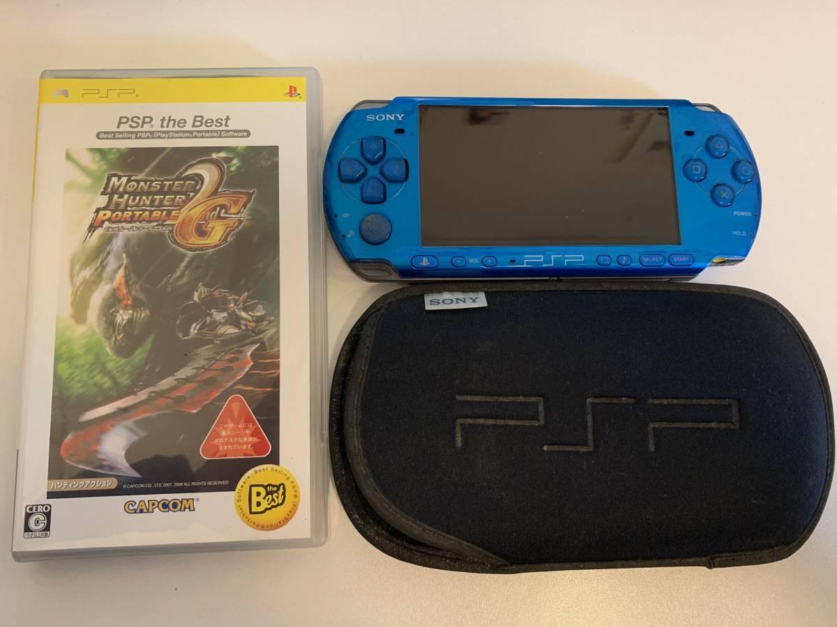 PSP-3000 モンスターハンターソフト付き