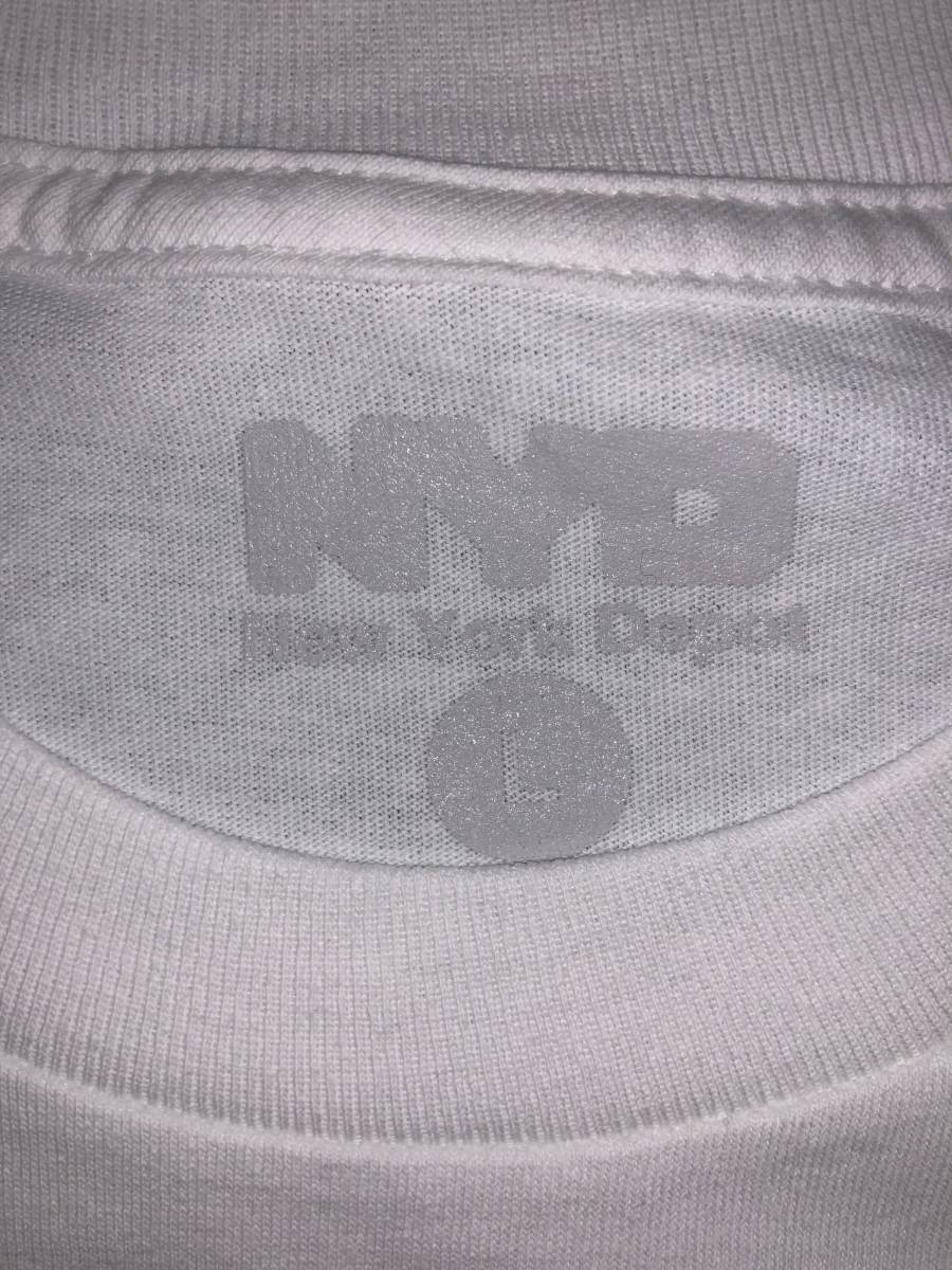 the Apartment NYD Tee whiet L stabridge north face_画像3