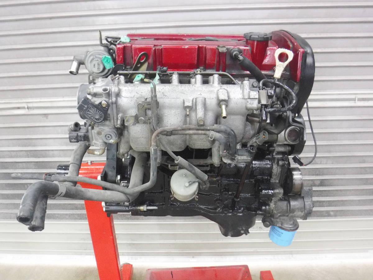 4G63 CT9A ランサーエボリューション8 GSR 実動エンジン_画像5