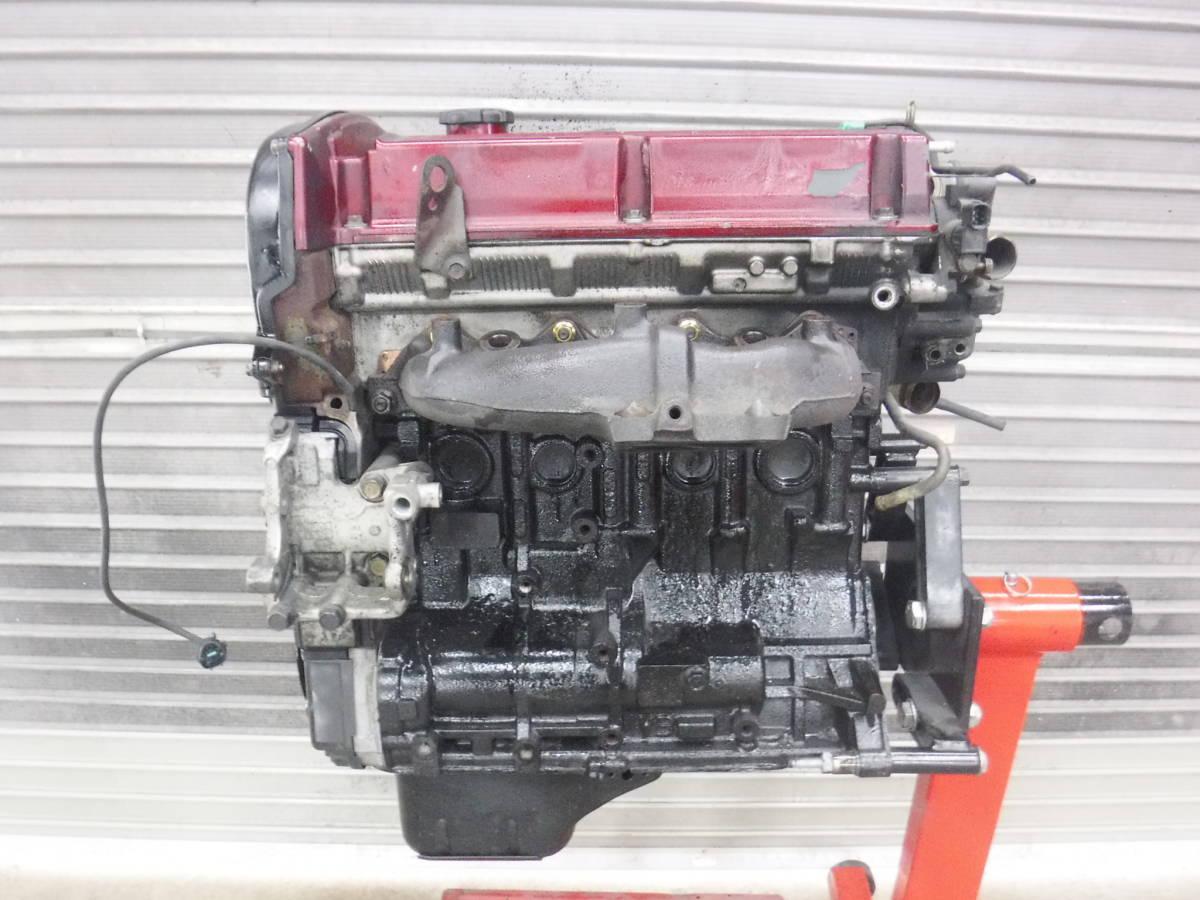 4G63 CT9A ランサーエボリューション8 GSR 実動エンジン_画像6
