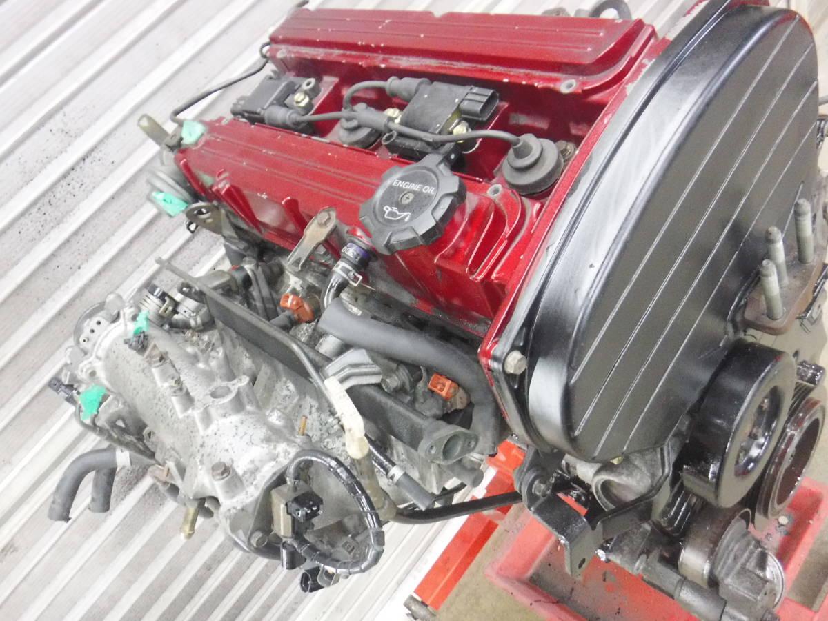 4G63 CT9A ランサーエボリューション8 GSR 実動エンジン_画像2