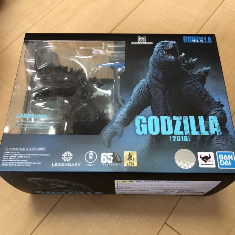 新品未開封 S.H.MonsterArts モンスターアーツ GODZILLA ゴジラ 2019 キング・オブ・モンスターズ