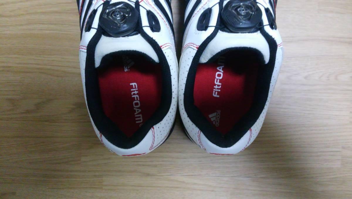 ★美品★ adidas ゴルフシューズ tour 360 Boa Q47060 25.0㎝_画像6