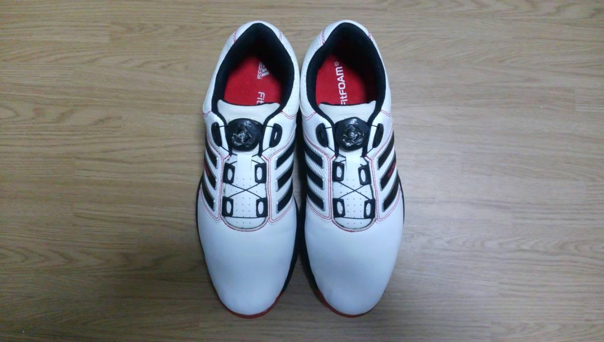 ★美品★ adidas ゴルフシューズ tour 360 Boa Q47060 25.0㎝_画像2