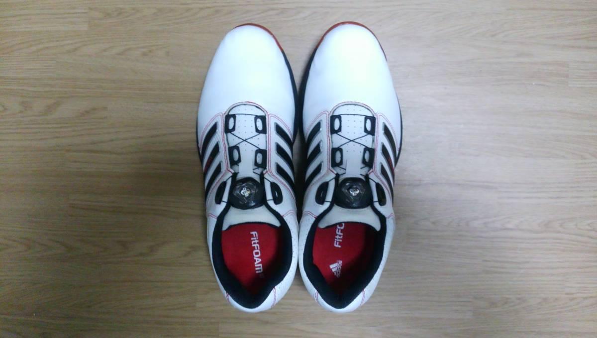 ★美品★ adidas ゴルフシューズ tour 360 Boa Q47060 25.0㎝_画像5