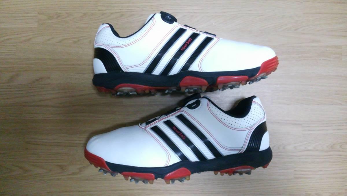 ★美品★ adidas ゴルフシューズ tour 360 Boa Q47060 25.0㎝_画像8
