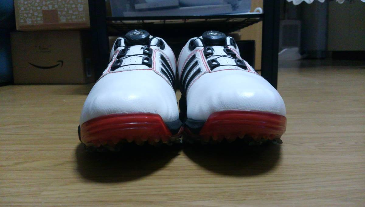 ★美品★ adidas ゴルフシューズ tour 360 Boa Q47060 25.0㎝_画像4