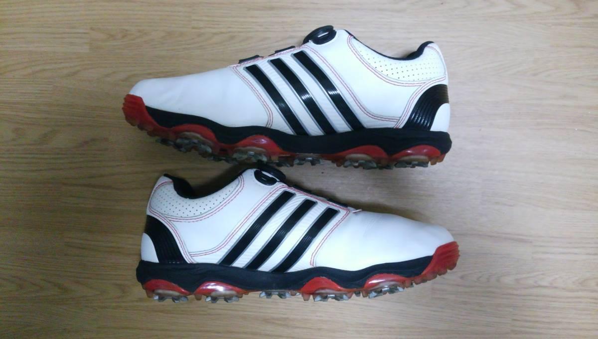 ★美品★ adidas ゴルフシューズ tour 360 Boa Q47060 25.0㎝_画像9