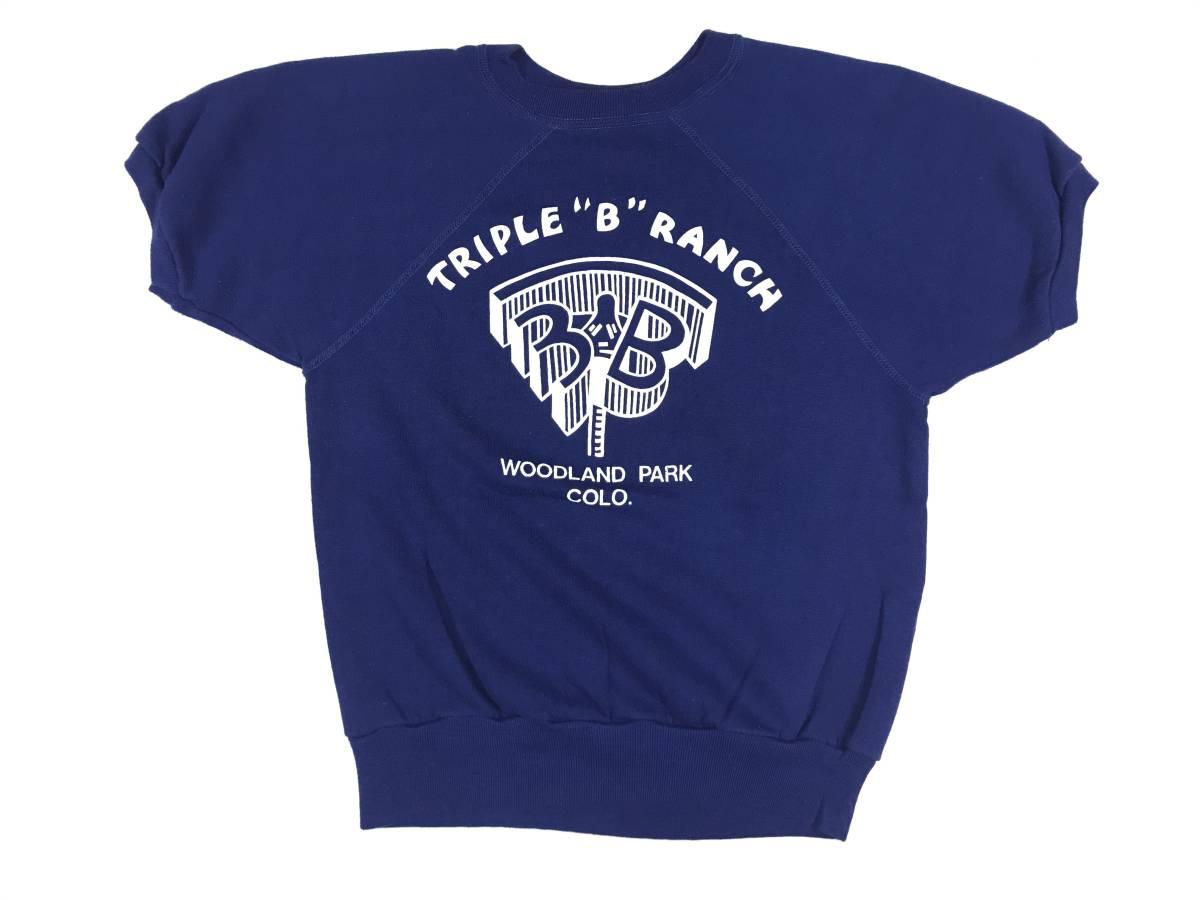 古着 16351 S 半袖 スウェット Tシャツ USA コットン ビンテージ オリジナル vintage 60 70 80 90 _画像1