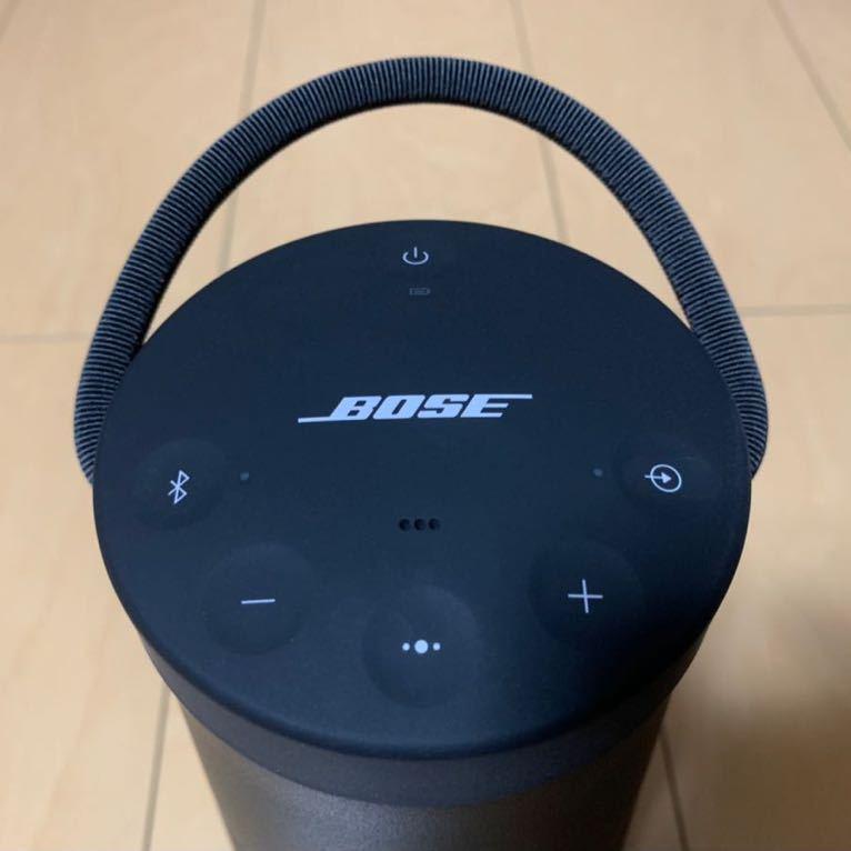 1円スタート 超美品 完動品 BOSE SOUNDLINK REVOLVE + ボーズ サウンドリンク Bluetooth ワイヤレス スピーカー おまけケース付き _画像2