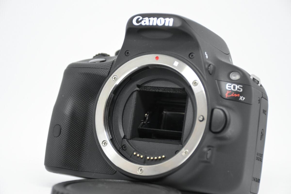 【Canon】EOS Kiss X7ダブルズームキット 中古 キャノン_画像2