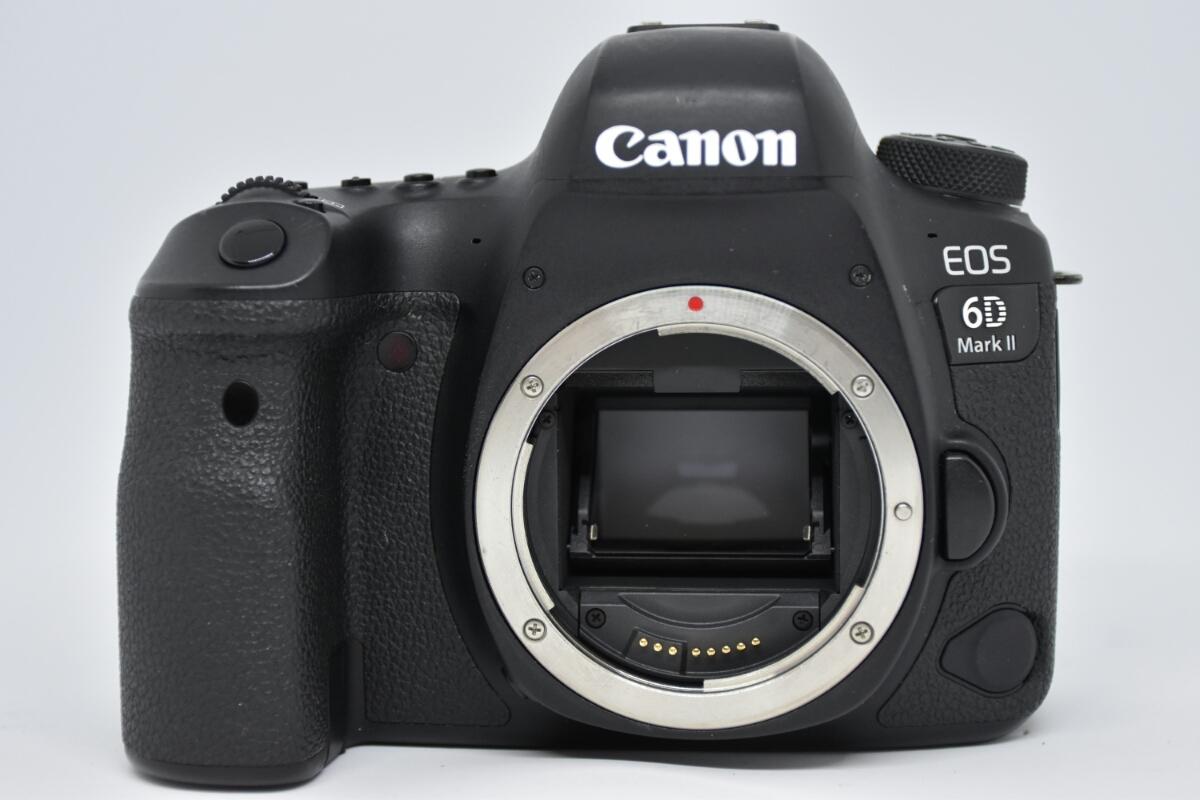 1円~Canon EOS 6D MARK2 ボディ 元箱付美品 最低落札価格なし