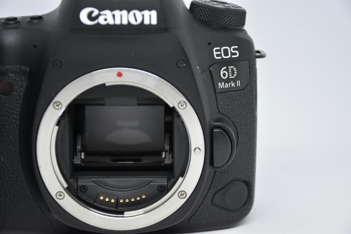 1円~Canon EOS 6D MARK2 ボディ 元箱付美品 最低落札価格なし_画像2