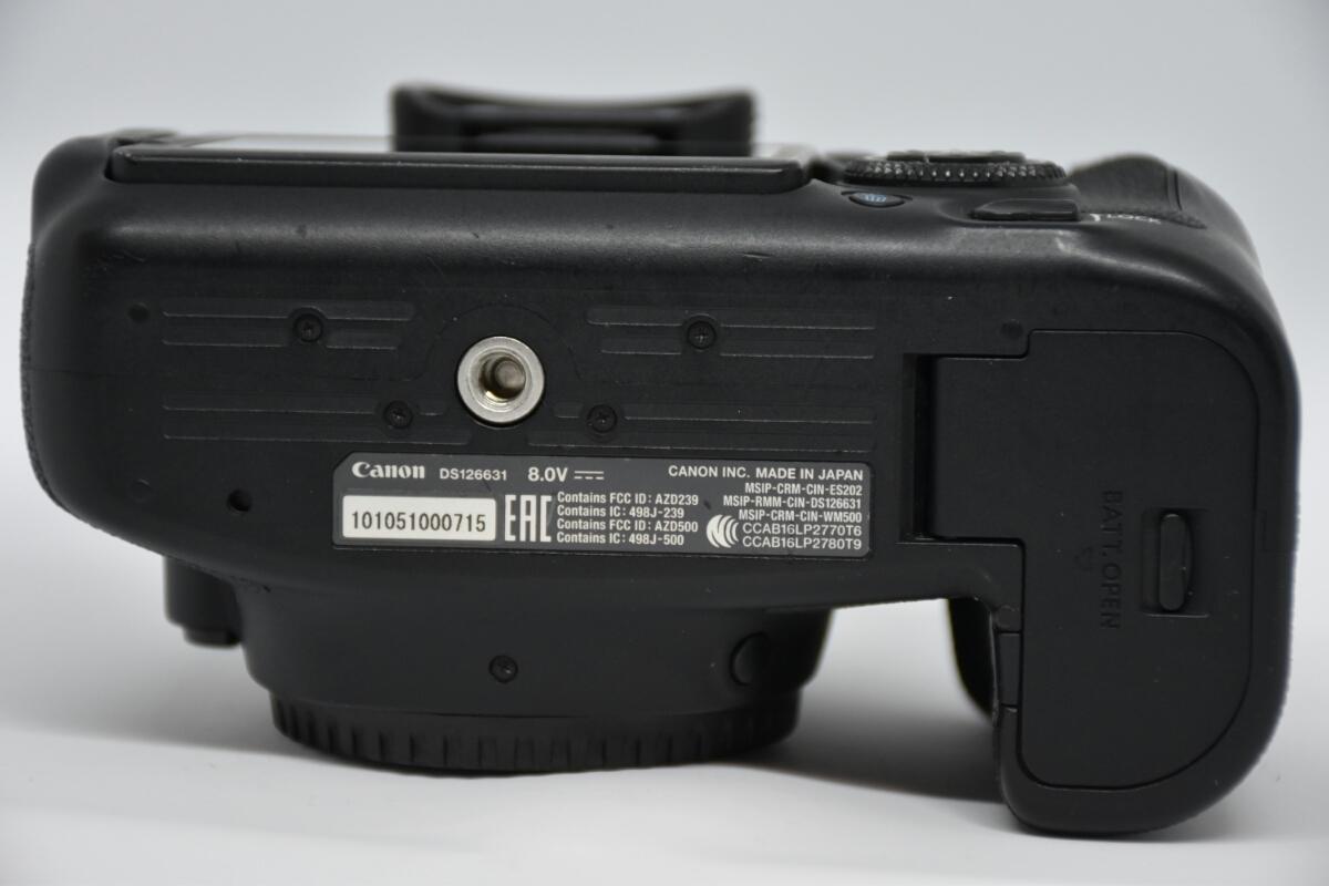 1円~Canon EOS 6D MARK2 ボディ 元箱付美品 最低落札価格なし_画像7