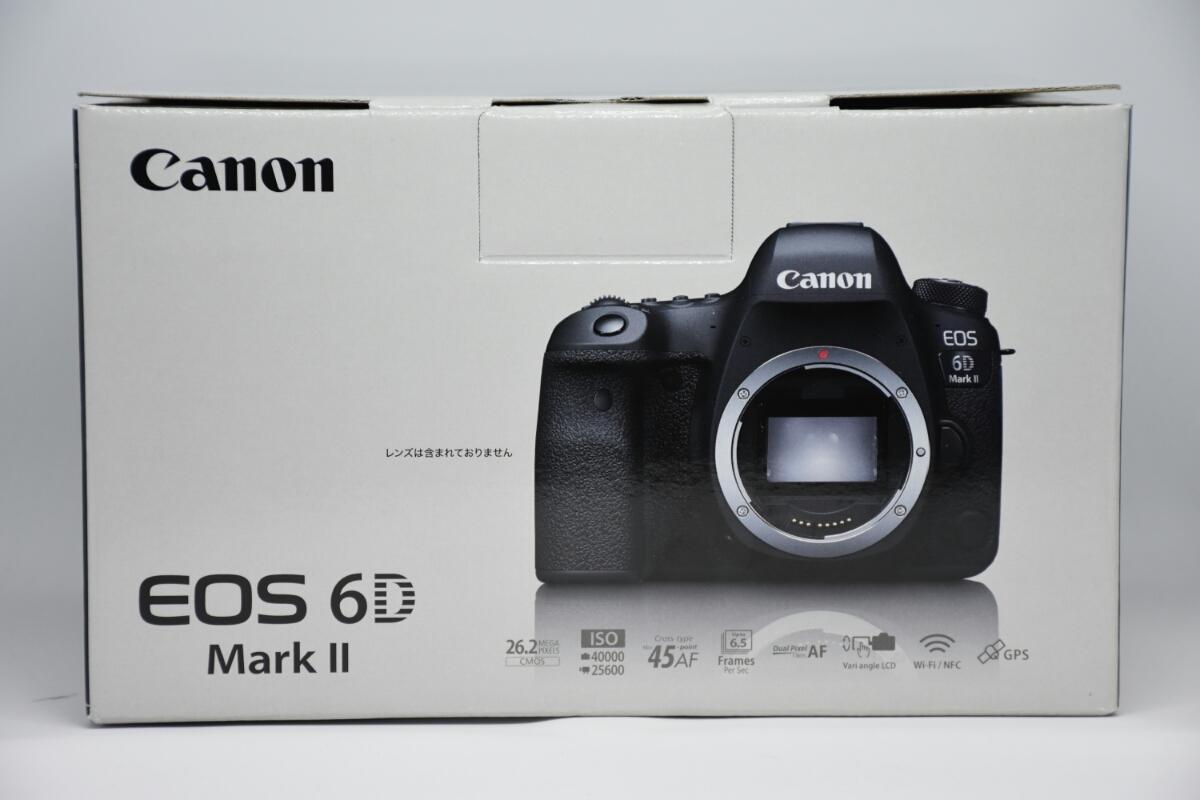 1円~Canon EOS 6D MARK2 ボディ 元箱付美品 最低落札価格なし_画像8