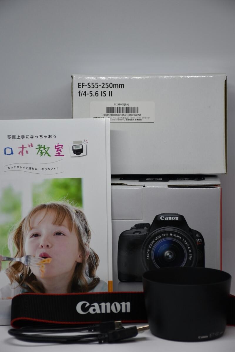 【Canon】EOS Kiss X7ダブルズームキット 中古 キャノン_画像10