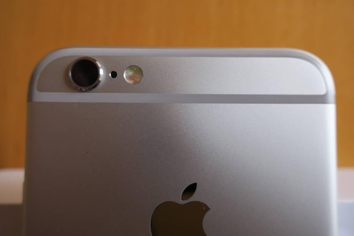 極美品! SIMフリー iPhone6S 64GB シルバー ○判定 付属品完備_画像9