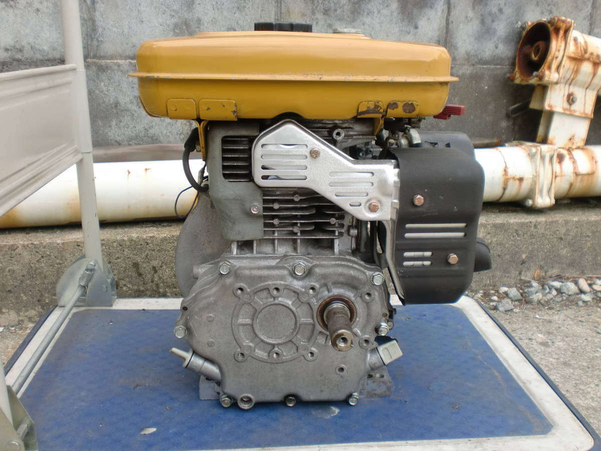 ロビン EH25B 発動機 エンジン 農機 除雪機 洗浄機 などに 程度良好_画像3