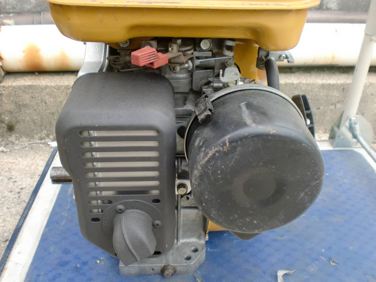 ロビン EH25B 発動機 エンジン 農機 除雪機 洗浄機 などに 程度良好_画像9