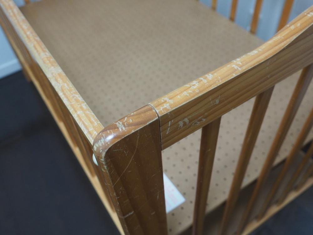 木製ベビーベッド カトージ_画像5