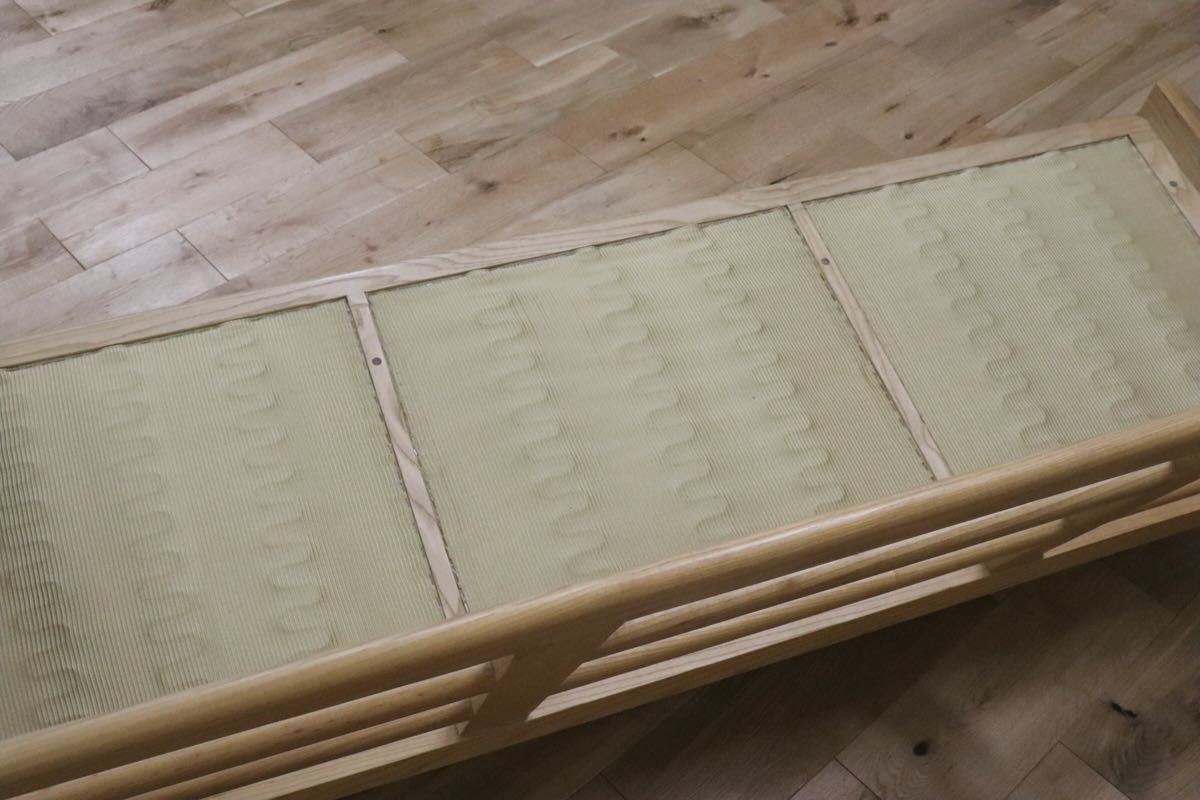 ハンス ウェグナー デザイン 3人掛けソファ トリプルソファ リプロダクト 北欧 アッシュ材 290イージーチェア gmck267_画像5