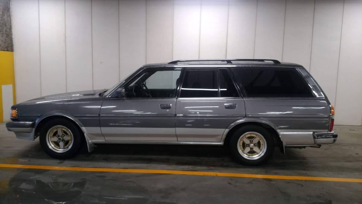 大阪の方注目! トヨタ マークⅡワゴン マーバン ツーバン なにわ 当時ナンバー ダッシュ割れなし 当時物 旧車 GX70 71 売切り_画像4