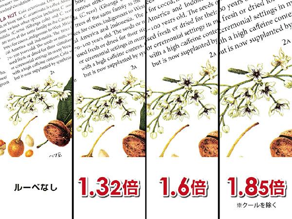 【送料無料】 ハズキルーペ クール 1.32倍 ブラックグレー カラーレンズ 新品未使用_画像2