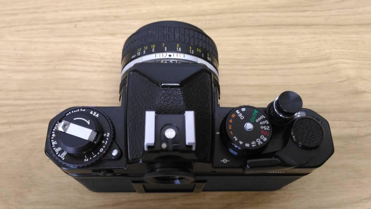 [MtY20]Nikon ニコン フィルムカメラまとめ Nikon F/Nikon FE/Nikomat EL ストロボ ジャンク品 80サイズ_画像7