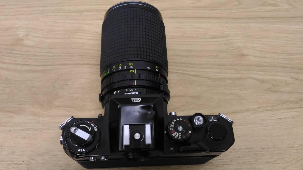 [MtY20]Nikon ニコン フィルムカメラまとめ Nikon F/Nikon FE/Nikomat EL ストロボ ジャンク品 80サイズ_画像5