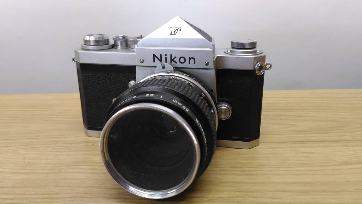 [MtY20]Nikon ニコン フィルムカメラまとめ Nikon F/Nikon FE/Nikomat EL ストロボ ジャンク品 80サイズ_画像2