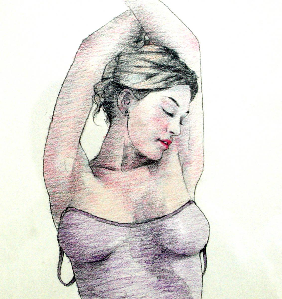 イラストレーター 松原健治 書籍表紙 原画 「F-Venus19」A3 額付き_画像3
