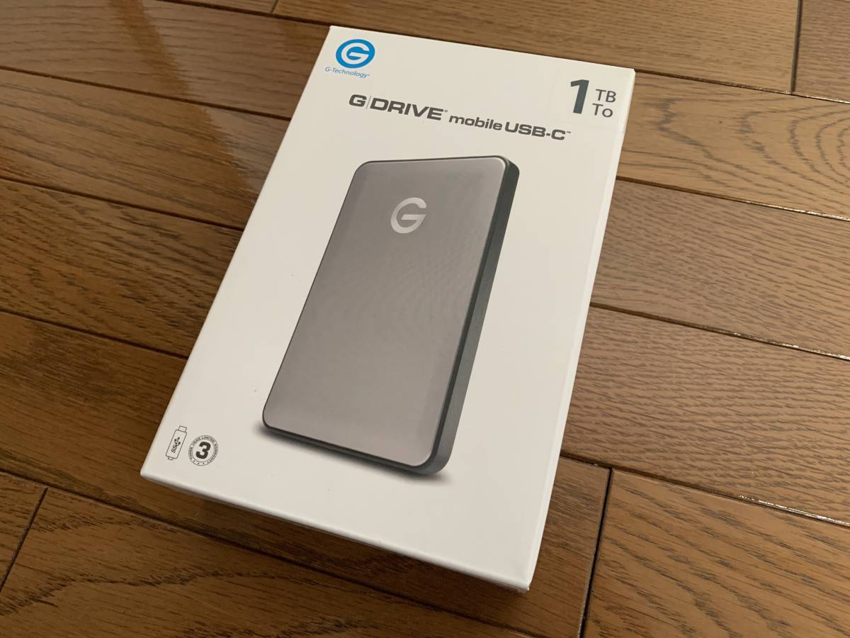 G-Technology 1TB G-DRIVE mobile USB-C Portable Hard Drive Apple限定