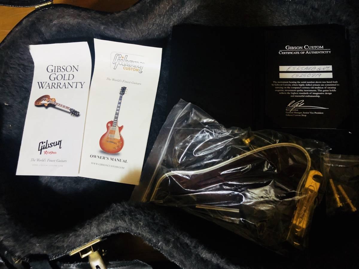 Gibson Custom Shop製 ES-355 エボニー_画像6