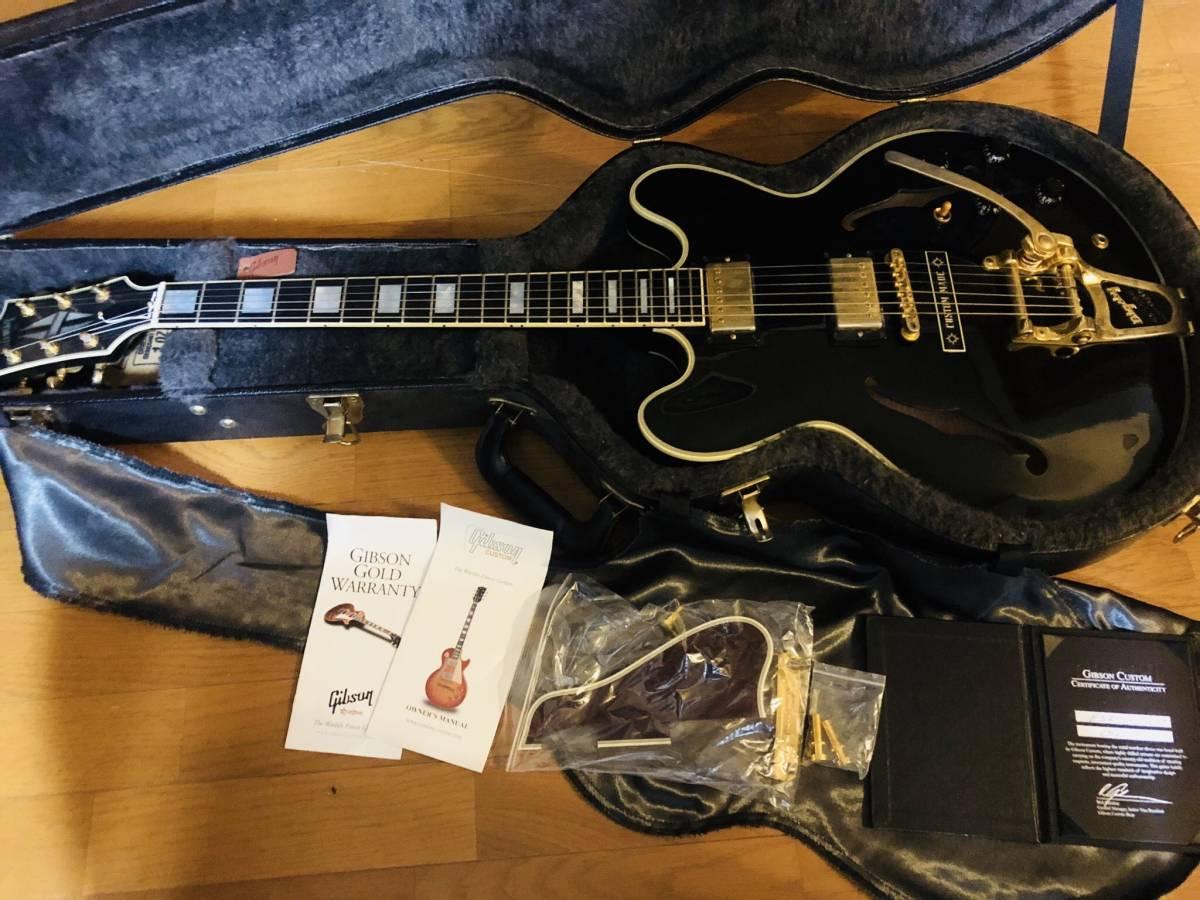 Gibson Custom Shop製 ES-355 エボニー