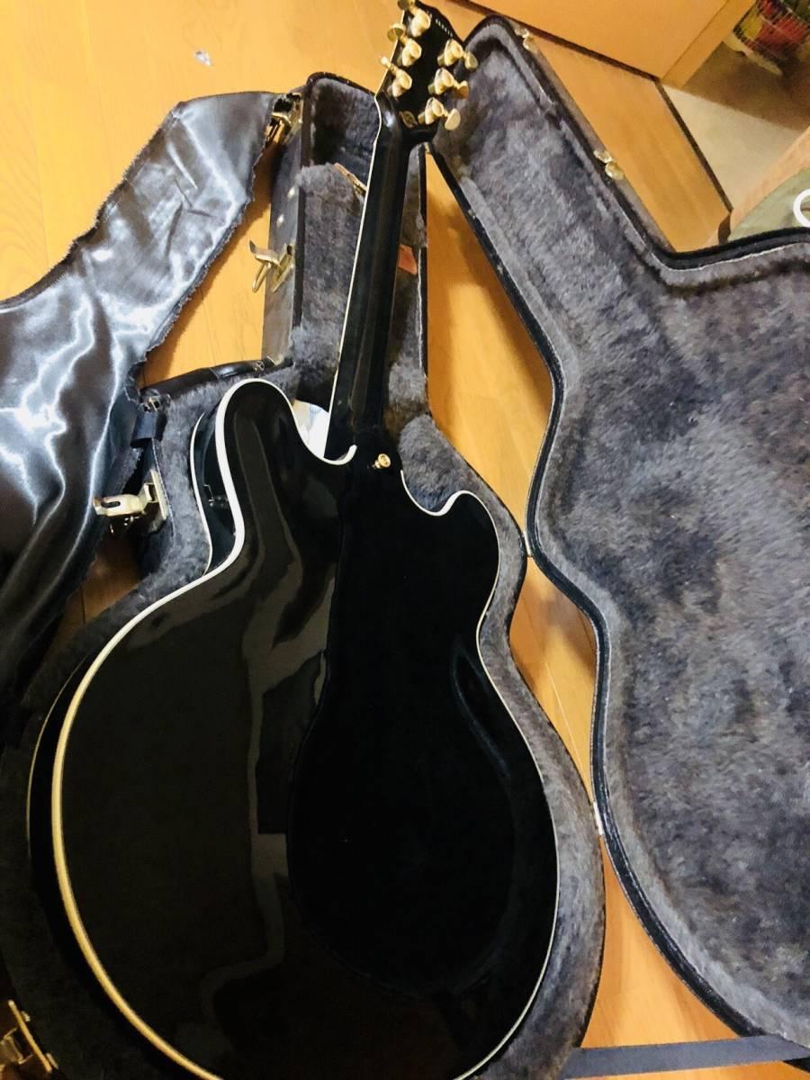 Gibson Custom Shop製 ES-355 エボニー_画像4