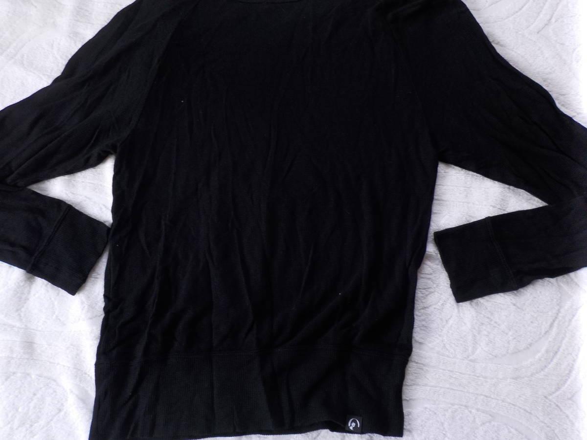 ヒスグラ★ヒスタイガーガールのプリントメッシュ地の長袖Tシャツ(黒)_画像4