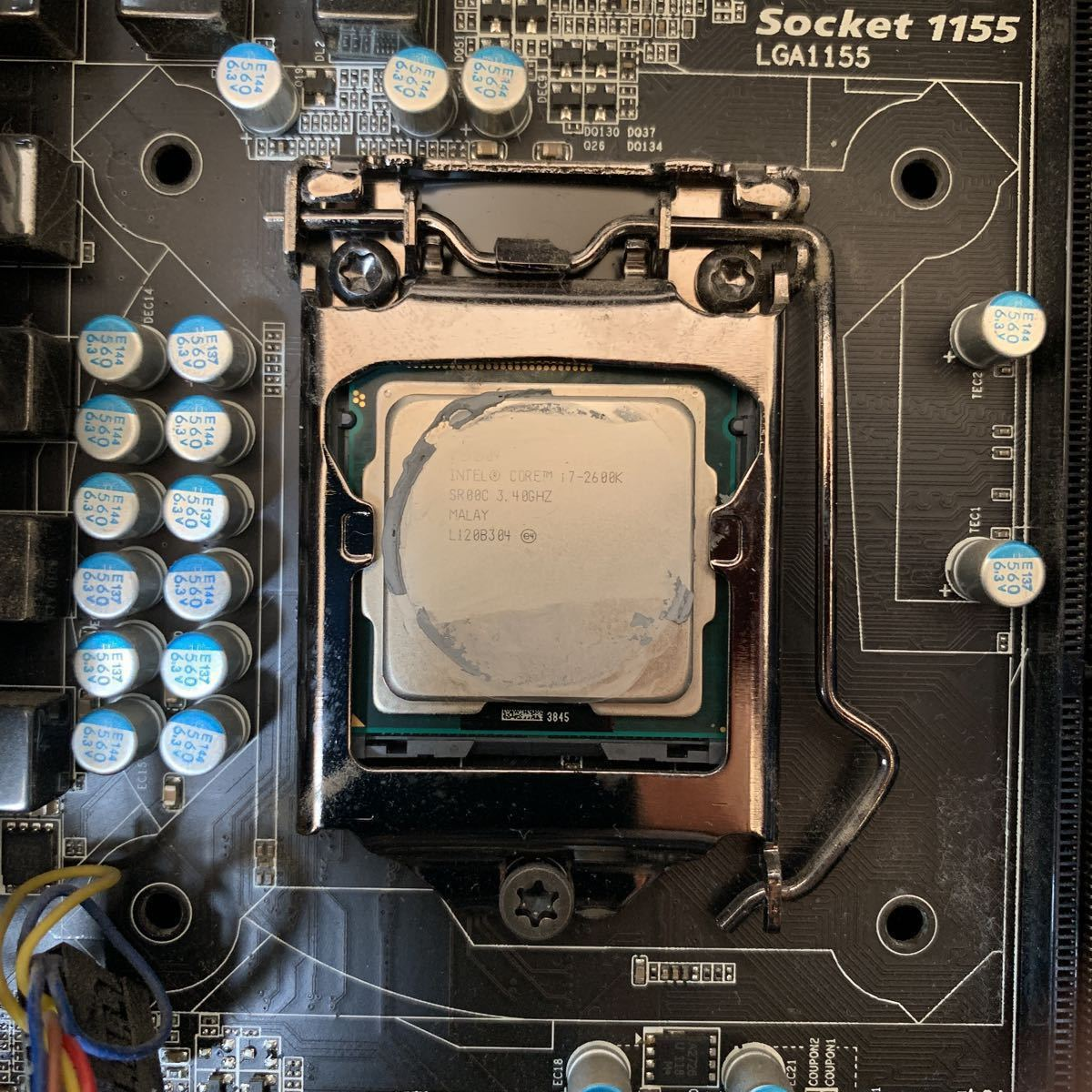 ★Antec 自作PC Core i7 2600K ジャンク品。_画像10