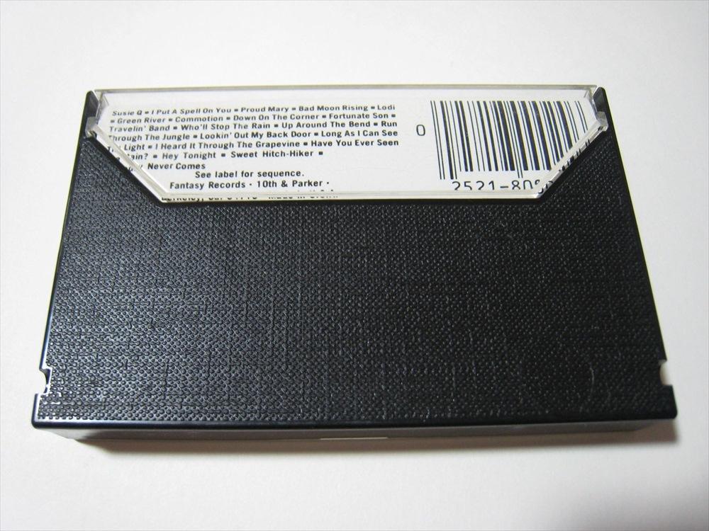 【カセットテープ】 CREEDENCE CLEARWATER REVIVAL / CHRONICLE US版 クリーデンス・クリアウォーター・リバイバル クロニクル_画像2