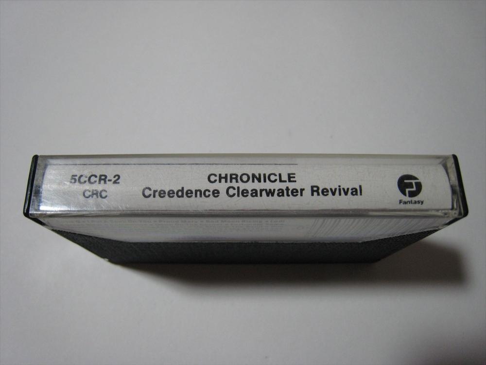 【カセットテープ】 CREEDENCE CLEARWATER REVIVAL / CHRONICLE US版 クリーデンス・クリアウォーター・リバイバル クロニクル_画像3