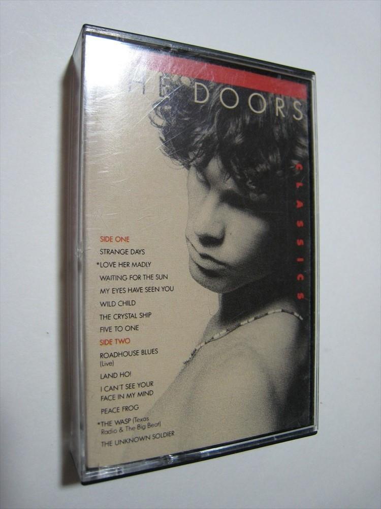 【カセットテープ】 THE DOORS / CLASSICS US版 ザ・ドアーズ クラシックス_画像1