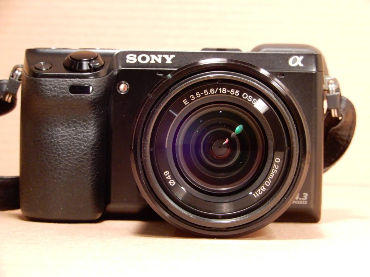 ソニー SONY NEX-7 レンズ E 18-55mm F3.5-5.6 OSS デジタルカメラ_画像4
