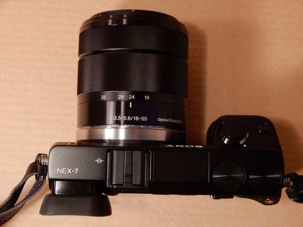 ソニー SONY NEX-7 レンズ E 18-55mm F3.5-5.6 OSS デジタルカメラ_画像7