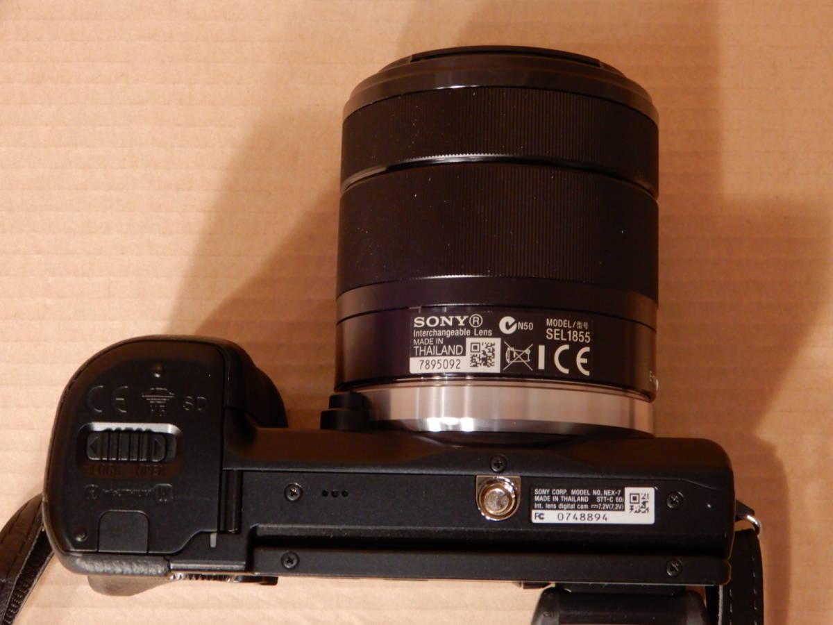 ソニー SONY NEX-7 レンズ E 18-55mm F3.5-5.6 OSS デジタルカメラ_画像8