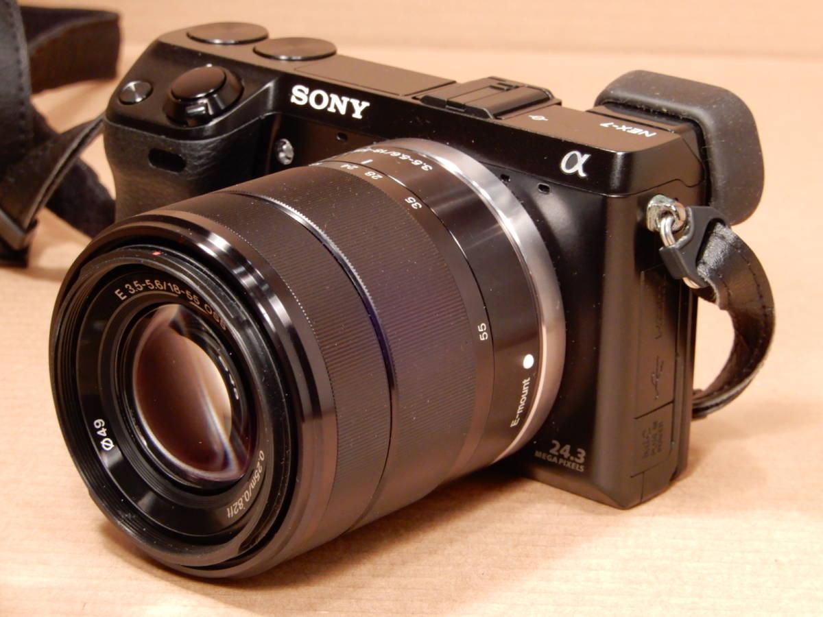 ソニー SONY NEX-7 レンズ E 18-55mm F3.5-5.6 OSS デジタルカメラ_画像9