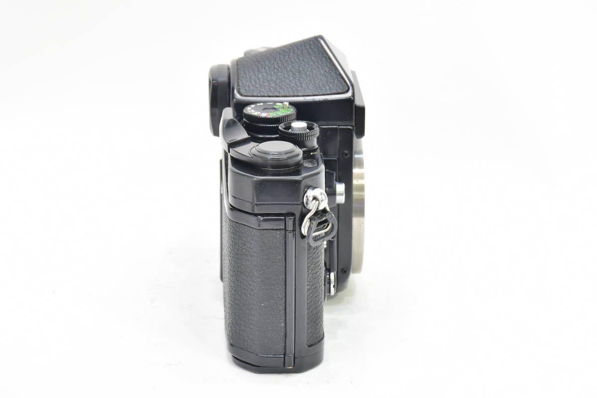 2AM393 ◆ Nikon ニコン F2 アイレベル ブラック 794万台 ブラック DE-1 MF一眼レフ フイルムカメラ_画像6